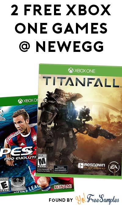FREE Titanfall or Pro Evolution Soccer For Xbox One After Rebate