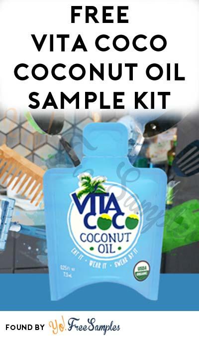 FREE Vita Coco Coconut Oil Sample Kit