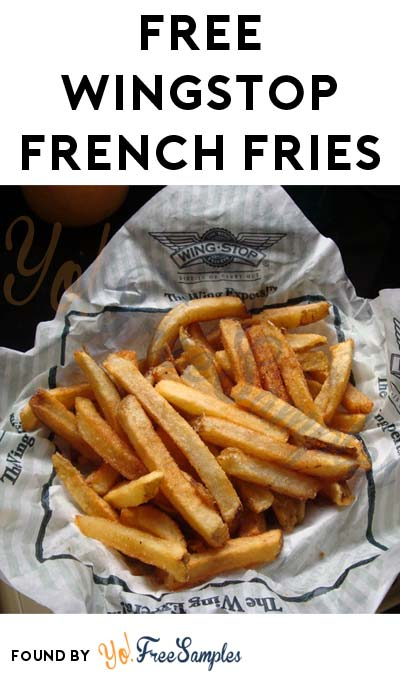 FREE French Fries With Wings Purchase At Wingstop