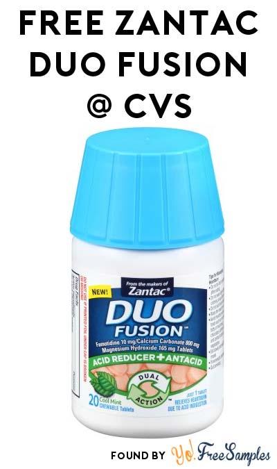 FREE Zantac Duo Fusion at CVS (Coupons Required)