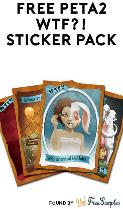 FREE peta2 WTF?! Sticker Pack