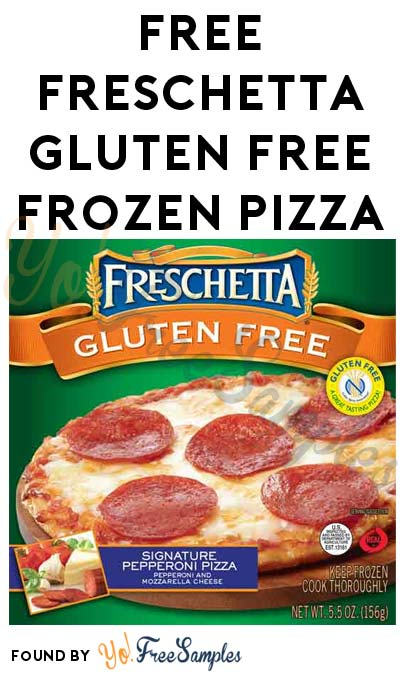 Possible FREE Freschetta Gluten Free Frozen Pizza (Smiley360)
