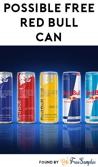 Possible FREE Red Bull Can (Twitter Required)
