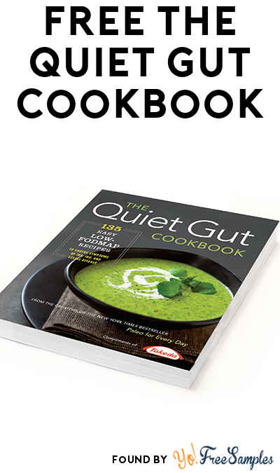 FREE The Quiet Gut Cookbook [Verified Received By Mail]