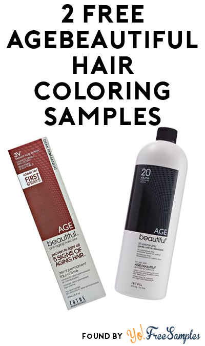 Today Only: FREE AGEbeautiful Permanent or Demi Haircolor & 4 oz. AGEbeautiful Creme Developer At Sally Beauty (Must Redeem In-Store)