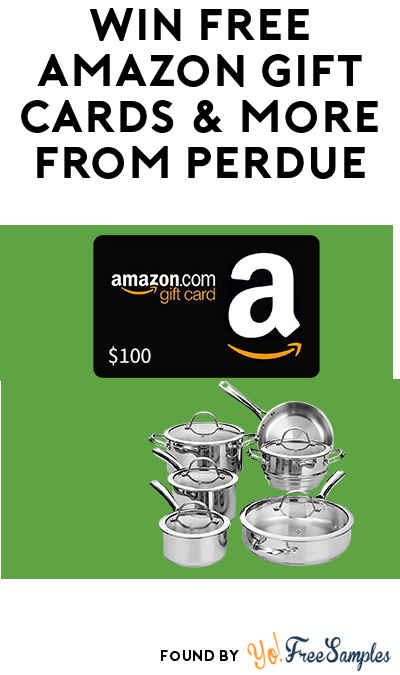 Win A FREE $100 Amazon Gift Card & More From Perdue (Facebook Or Twitter Required)