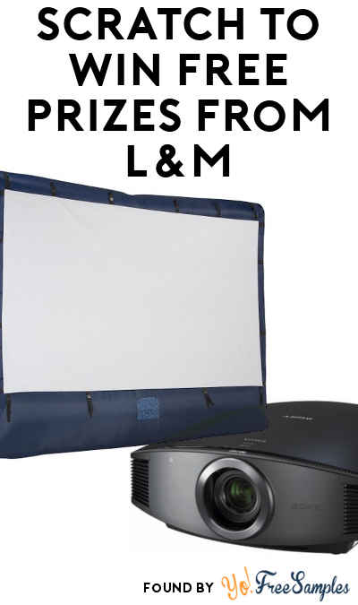 Enter Daily: Win A FREE Inflatable Movie Screen w/ Projector, Outdoor Patio Set, Bottle Opener & More From L&M Daily