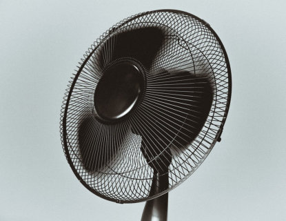 use fans to keep cool