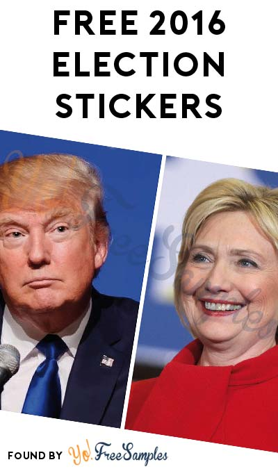 FREE Election 2016 Stickers