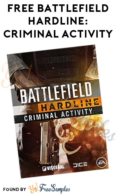 FREE Battlefield Hardline: Criminal Activity PC Game Download From Origin
