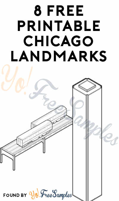 8 FREE Printable Chicago Landmarks