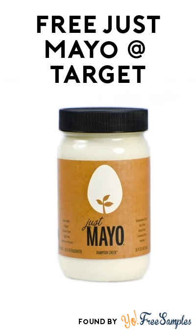 ENDS TODAY: FREE Just Mayo at Target (Coupon & Ibotta Required)