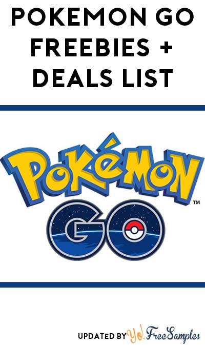 11 FREE Pokémon Go Freebies & Deals