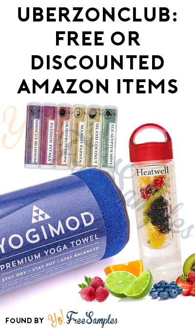 FREEBATE & Discounted Amazon Products From UberZon Club