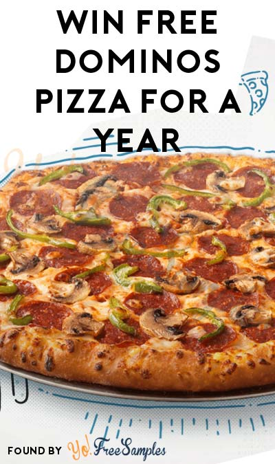 Win FREE Dominos Pizza For A Year & Other Prizes