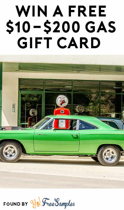 Win A FREE $10-$200 Gas Gift Card (Mobile Number Required)