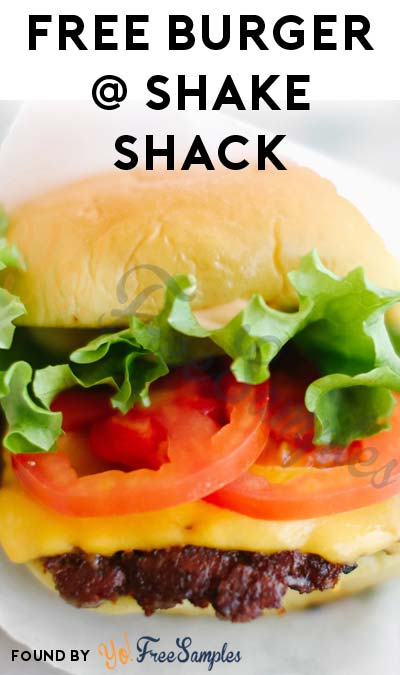 100 FREE Burgers At Each Shake Shack Location (100 Locations Worldwide)