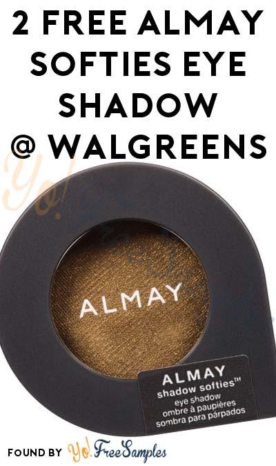 2 FREE Almay Softies Eye Shadow At Walgreens (Coupon Required)