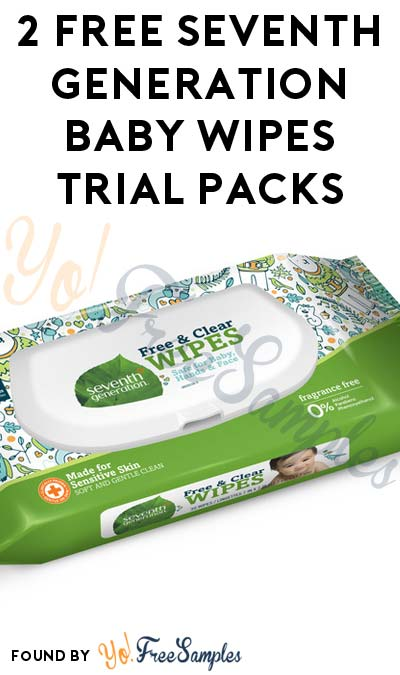 Possible 2 FREE Seventh Generation Baby Wipes 2-Count Packs (Account Required)