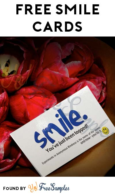 FREE Acts Of Kindness Smile Cards