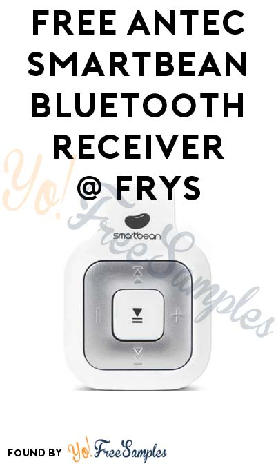 FREE Antec Smartbean Bluetooth Receiver From Fry's (In-Store Pickup Only + Rebate Required)