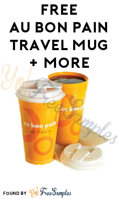 FREE Au Bon Pain Travel Mug, Birthday Lunch & Annual Gift Upon Joining eClub
