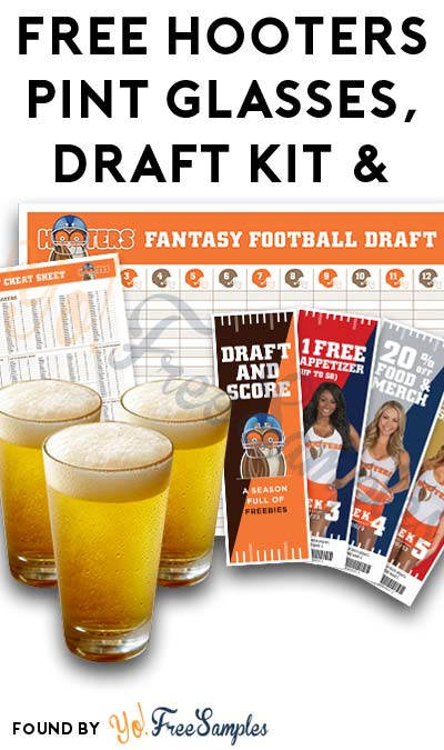 FREE Hooters Fantasy Draft Football Bleacher Report Swag Kit & More