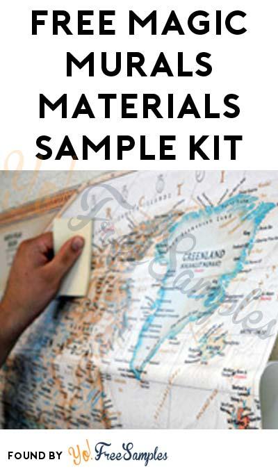 FREE Magic Murals Materials Sample Kit
