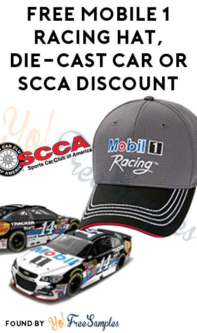 FREE Mobile 1 Racing Hat, Die-Cast Car or SCCA Discount (Quiz Required)