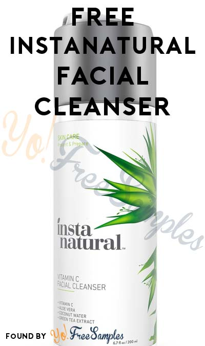 FREE Natural Antioxidant Vitamin C Facial Cleanser From InstaNatural