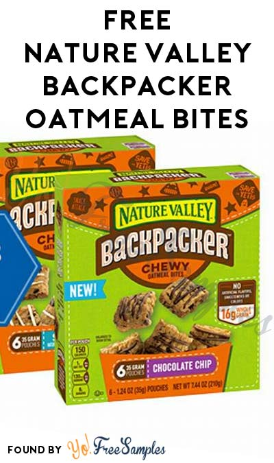 FREE Nature Valley Backpacker Oatmeal Bites (Existing Pillsbury Members Only)