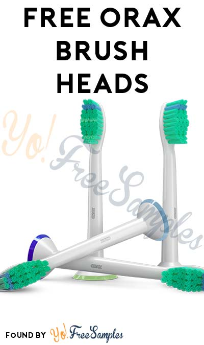 4 FREE ORAX Brush Heads (Sonicare Replacements) For Amazon [Verified Received By Mail]