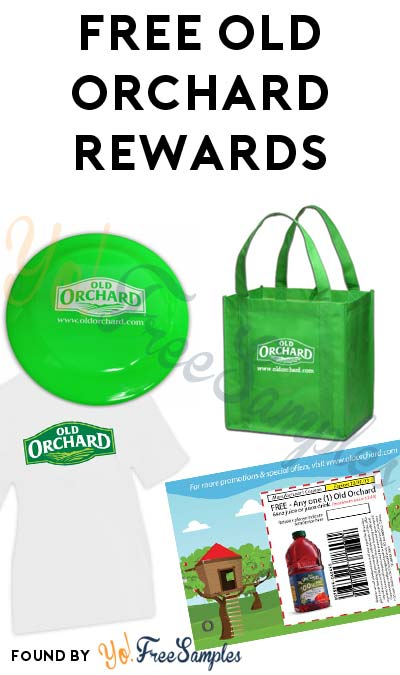 FREE Old Orchard Concentrate, Shirt, Tote, Frisbee & Other Rewards For Joining The Fan Club