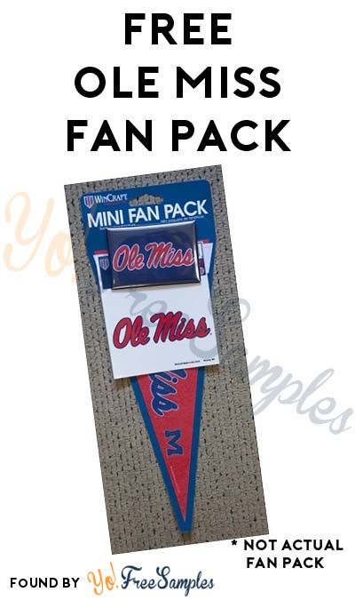 FREE Ole Miss Fan Pack