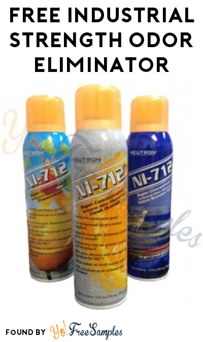 FREE Orange Neutron NI-712 Industrial Strength Odor Eliminator (Email Confirmation Required) [Verified Received By Mail]