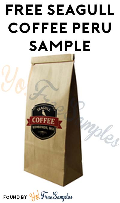 Back In Stock: FREE Organic Fair Trade Peru Coffee 2oz Sample From Seagull Coffee