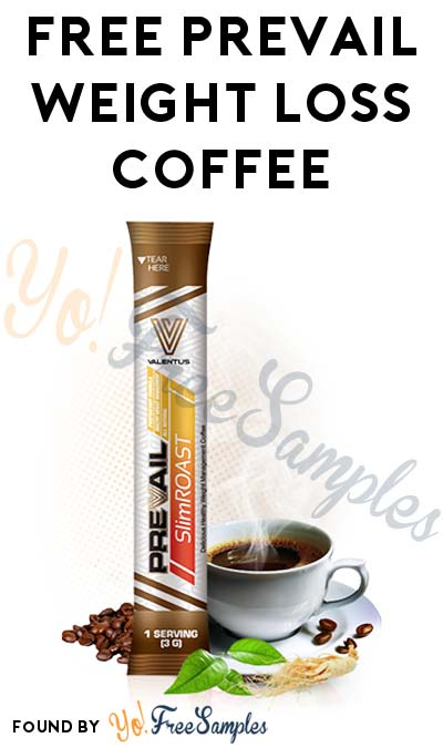 FREE Prevail Weight Loss Coffee [Verified Received By Mail]
