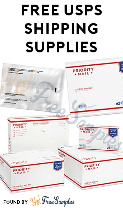 FREE Priority Mail Boxes, Flat Rate Boxes, Padded Envelopes & Other USPS Shipping Supplies [Verified Received By Mail]