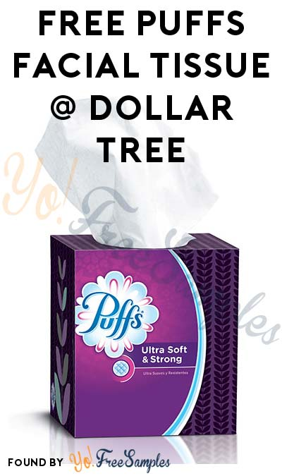 FREE Puffs Facial Tissues at Dollar Tree (Coupon + Checkout 51 Required)