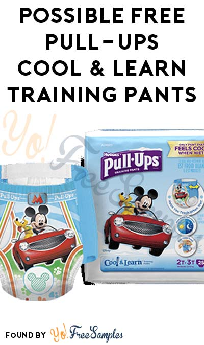 FREE Pull-Ups Cool & Learn Training Pants Pack & More (Apply To Host Party)