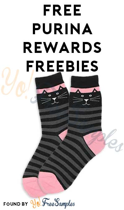 FREE Purina Cat Rewards For Earning Points (23,700+ Points Included)