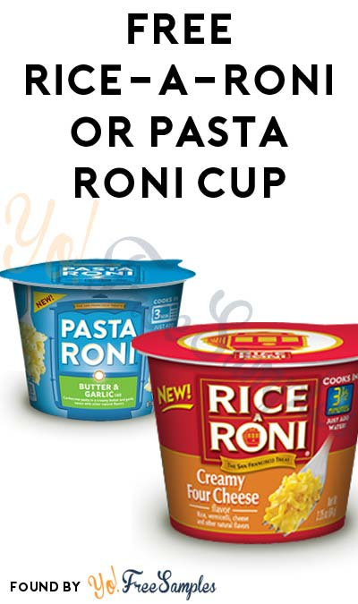 FREE Rice-A-Roni or Pasta Roni Cup (SavingStar Required)