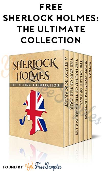FREE Sherlock Holmes Illustrated: The Ultimate Collection (Normally $51.99)