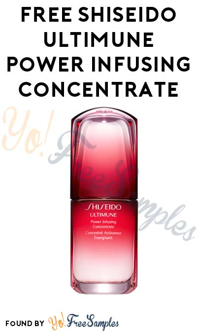 FREE Shiseido Ultimune Power Infusing Concentrate For Face At 8AM EST / 7AM CST / 6AM MST / 5AM PST Daily For You & A Friend (Photo/Video Required) [Verified Received By Mail]