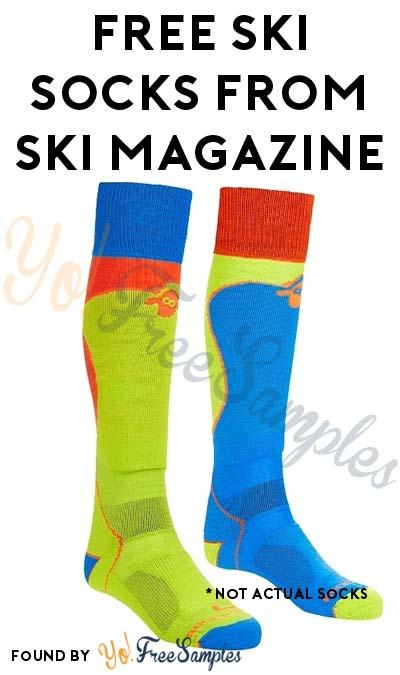 FREE Ski Socks From Ski Magazine