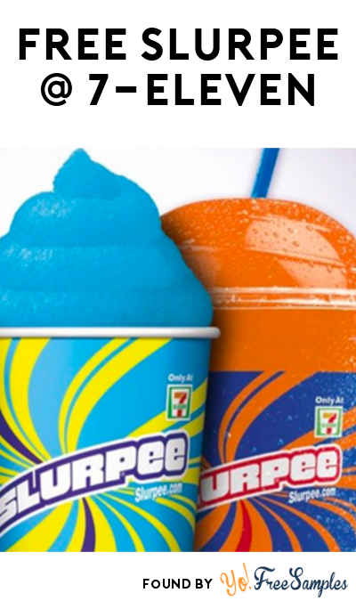 FREE Small Slurpee At 7-Eleven (Text Required)