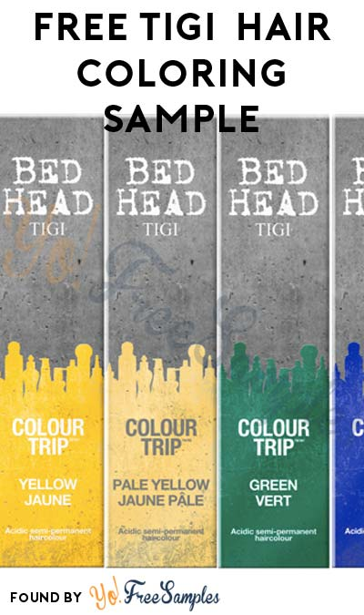 FREE Tigi Colour Trip Acidic Semi-Permanent Shades Hair Color (Stylists Only & Survey Required)