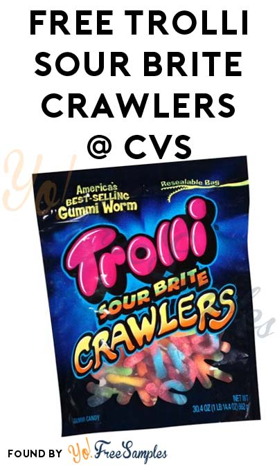 FREEBATE Trolli Sour Brite Crawlers At CVS