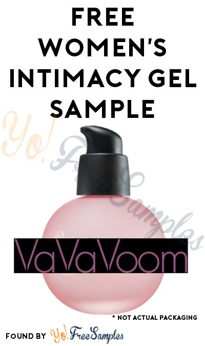 NSFW: FREE VaVaVoom* Women's Intimacy Gel Sample (Short Survey Required) [Verified Received By Mail]