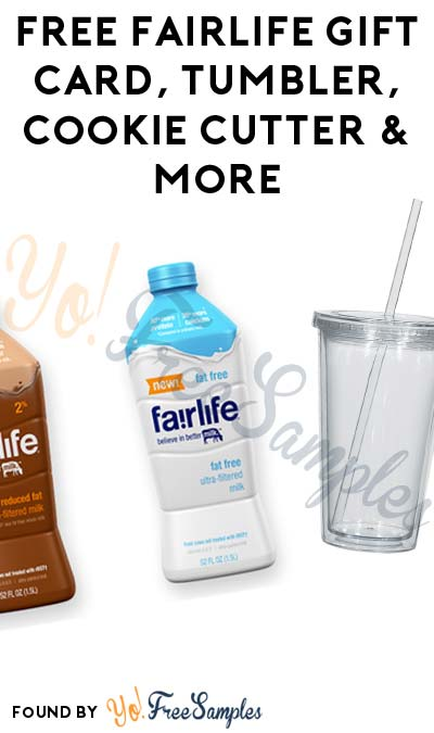 FREE fairlife Gift Card, Tumbler, Cookie Cutter & More (Apply To Host Party)